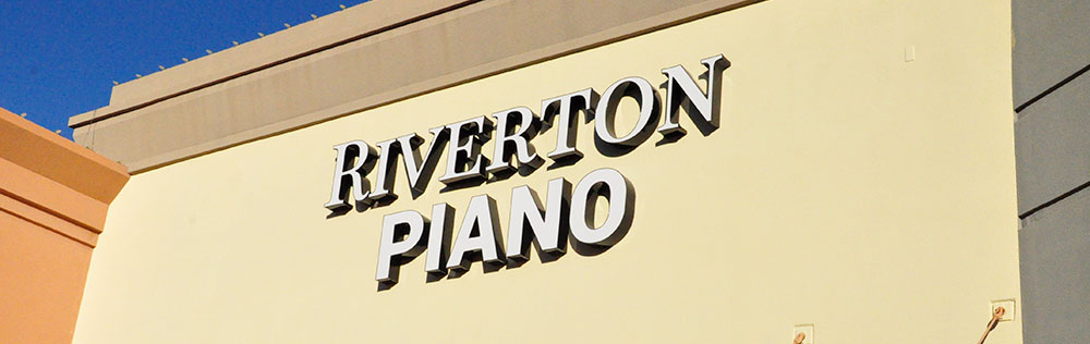 Riverton Piano Company Sign