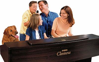 family karaoke clavinova