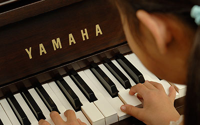 Playing a Yamaha Piano