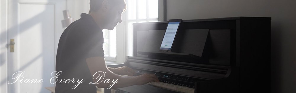 Piano Every Day app for Roland pianos