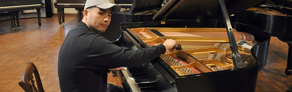 Tuning a Grand Piano