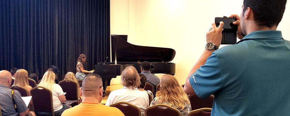 Host Your Next Recital at Riverton!