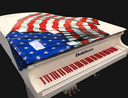 Baldwin American Flag Grand Piano