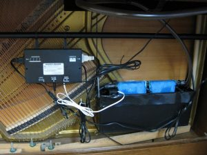 humidity control system upright piano