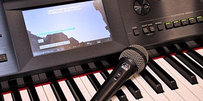 Yamaha Clavinova karaoke
