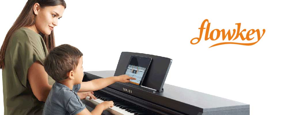 Learn Online for FREE with Flowkey and Yamaha!