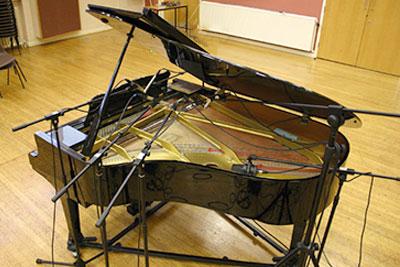 recording a baby grand piano