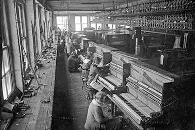 old piano factory in the us