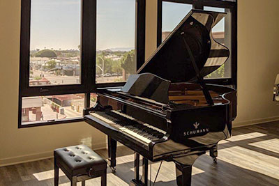 Schumann grand piano