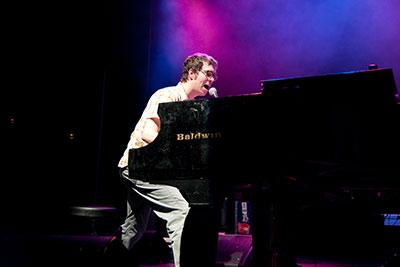 Ben Folds playing a Baldwin piano