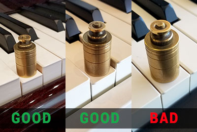 piano key weighting