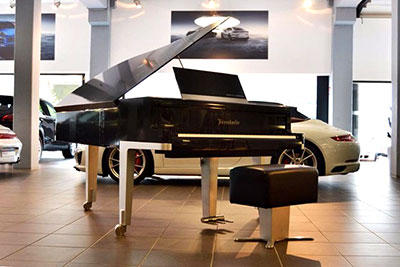 Porche piano by Bosendorfer