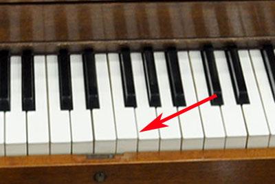 piano key regulation problem
