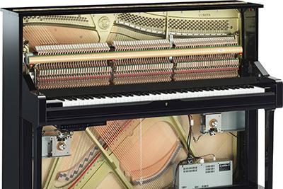 A Yamaha TransAcoustic Piano